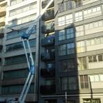 Mercator Cleaning - Ramen wassen kantoorgebouw - hoogtewerker - milieuvriendelijke producten