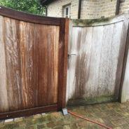 Kan je een terras uit hout reinigen met een hogedrukreiniger?
